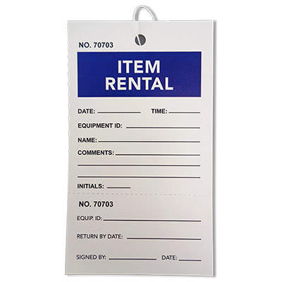 2 Part Rental Tag 1