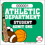 Athletic Event Tickets - Student