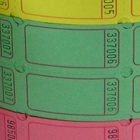 Standard Blank Double Roll Tickets Us Ticket Com