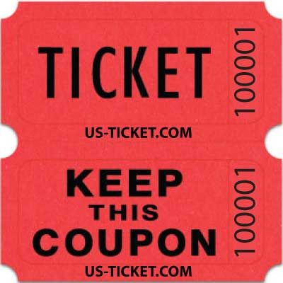 Bristol Double Roll Raffle Tickets | Us-Ticket.Com