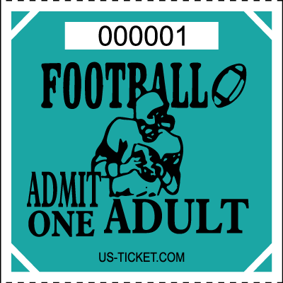 Premium Football Roll Ticket - Adult