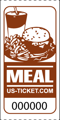 Premium Meal Roll Tickets