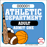 Athletic Event Tickets - Adult