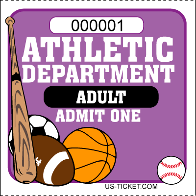 Athletic-Adult-Admit-One-Roll-Ticket-Purple