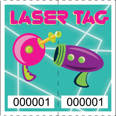 Premium Laser Tag Roll Tickets