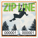 Premium Zipline Roll Tickets