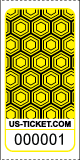 Premium Honeycomb Pattern Roll Tickets