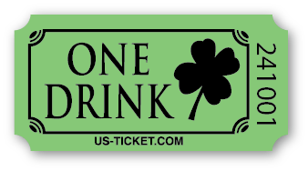 Standard St. Patrick One Drink Tickets