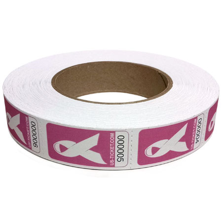Cancer Support Ribbon Roll Large View