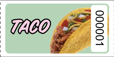 Graphic Style TacoTickets