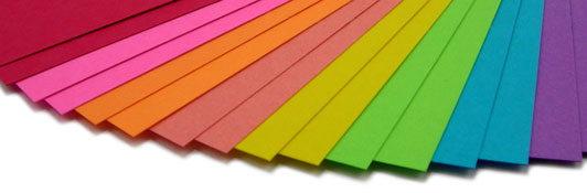 colored ticket paper