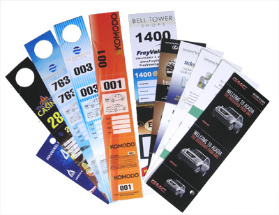 custom valet tickets 1