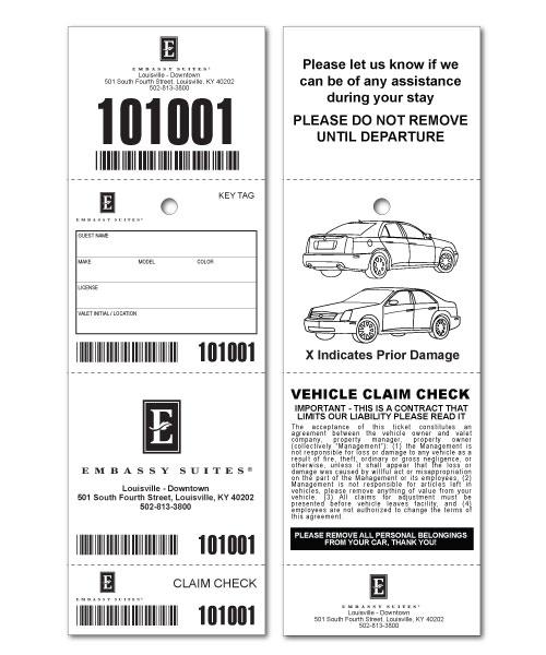 Us Parking Ticket Rental Car