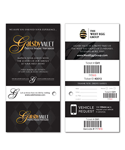 Custom Food Roll Ticket Samples